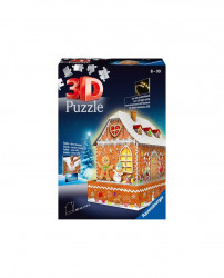 PUZZLE 3D CASA TURTA DULCE, 216 PIESE