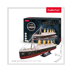 PUZZLE 3D LED TITANIC 266 PIESE