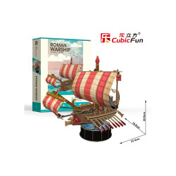PUZZLE 3D NAVA ROMANA DE RAZBOI 85 PIESE
