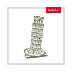 PUZZLE 3D TURNUL DIN PISA (NIVEL MEDIU 27 PIESE)
