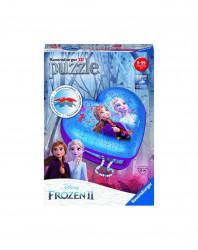 PUZZLE 3D CUTIE INIMA FROZEN II, 54 PIESE