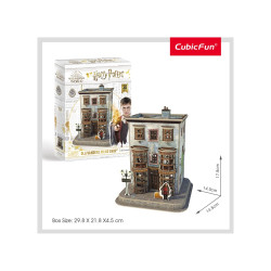 PUZZLE 3D HARRY POTTER - MAGAZIN OLLIVANDERS 66 PIESE