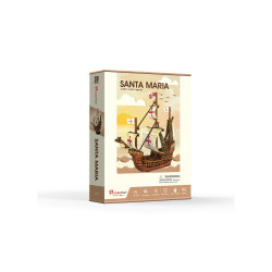PUZZLE 3D NAVA SANTA MARIA 93 PIESE