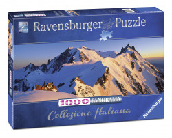 Puzzle Monte Blanco, 1000 Piese