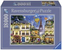 PUZZLE PLIMBARE PRIN PARIS, 18000 PIESE