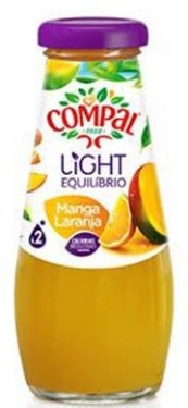 """Compal"" manga - laranja - Pack 6 x 20cl"