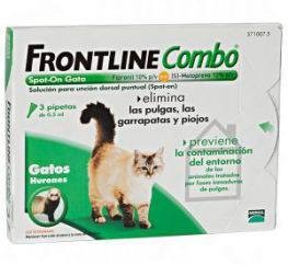 Imagens FRONTLINE Combo for cats 3 pipettes - free shipping