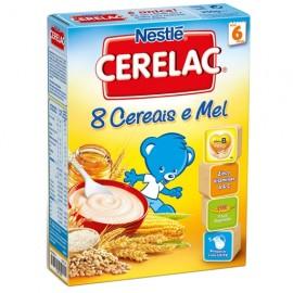 """Nestle """"Cerelac"""" 8 Cereais e Mel - 250gr"""