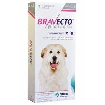 Imagens Bravecto Flea and Tick Protection 40 - 56kg (88 - 123 lbs) 1 chew - free shipping