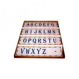 Imagens Azulejos de letras / numeros