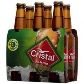 "Cerveja ""Cristal"" Mini - Pack 6 x 25cl"