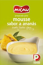 """Mousse de Ananás """"Micau"""""""