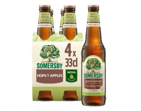 "Sidra ""Somersby"" Hops N Apples - Pack 4x33cl"