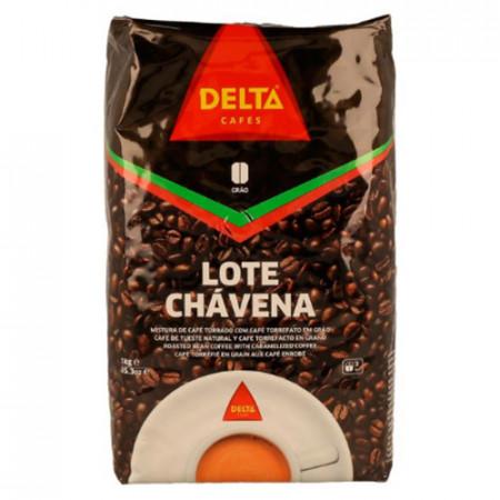 """Café """"Delta"""" Chavena - Mistura Grão Natural com Torrefacto 90/10 - 1kg"""