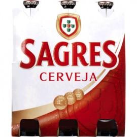 """Cerveja """"Sagres"""" - Pack 6x33cl"""