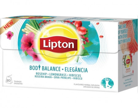 """Chã """"Lipton"""" Body Balance - 20uni"""