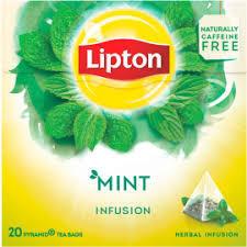 """Chã """"Lipton"""" Mint - 25uni"""