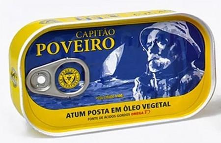 """Atum """"Capitão Poveiro"""" em óleo vegetal"""