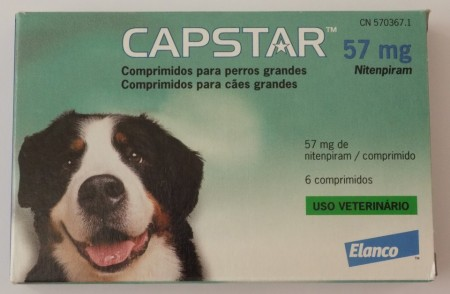 Imagens Capstar Flea Treatment Tablets for Dogs 6 tablets - free shipping