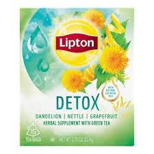 """Chã """"Lipton"""" Detox - 20uni"""