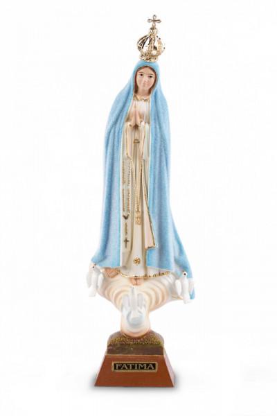 Estatua Fatima meteo - cambia color con tiempo - 20cm