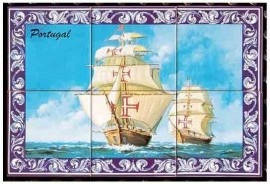 Imagens Painel de Azulejos