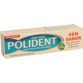 Imagens POLIDENT Denture Adhesive Cream 40g - NO FLAVOUR - FREE SHIPPING