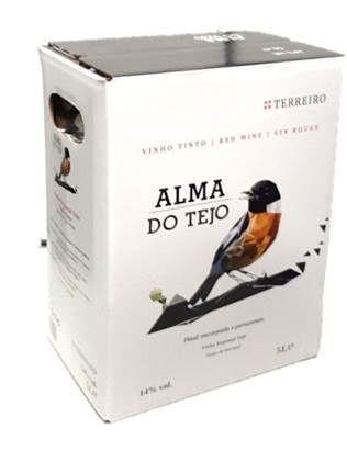 """Vinho Tinto """"Alma do Tejo"""" BAG-IN-BOX - 5 Lt"""