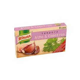 """Caldos Alhos e Coentros """"Knorr"""" - 8uni"""