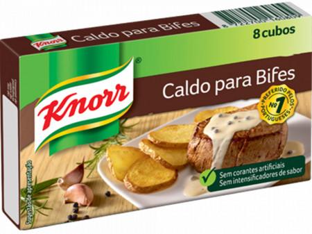 """Caldos para Bifes """"Knorr"""" - 8 uni"""