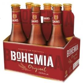 "Cerveja ""Sagres"" Bohemia Original - Pack 6x33cl"