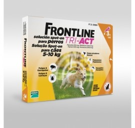 Imagens FRONTLINE TRI - ACT For Dogs 5kg - 10kg 3 pipettes - free shipping
