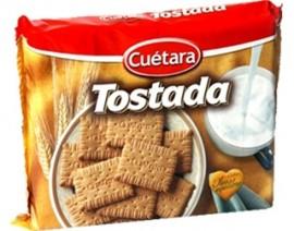 """Bolachas """"Cuétara"""" Tostada - Pack 4 x 200gr"""