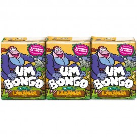 """Bongo"" laranja - Pack 3 x 20cl"