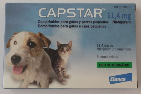 Imagens Capstar Flea Treatment Tablets for Cats and Dogs 6 tablets - free shipping
