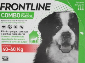 Imagens FRONTLINE Combo For Dogs 40kg - 60kg - 3 pipettes