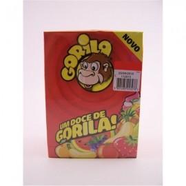 """Pastilhas Elásticas """"Gorila"""" Morango x 100"""