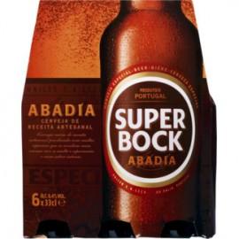 """Cerveja """"Super Bock"""" Abadia - Pack 6x33cl"""