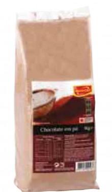 Imagens Chocolate de culinária em pó