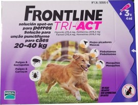 Imagens FRONTLINE TRI - ACT For Dogs 20kg - 40kg 3 pipettes - free shipping