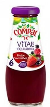 """""""Compal"""" frutos vermelhos - Pack 6 x 20cl"""