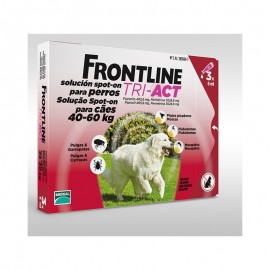 Imagens FRONTLINE TRI - ACT For Dogs 40kg - 60kg 3 pipettes - free shipping