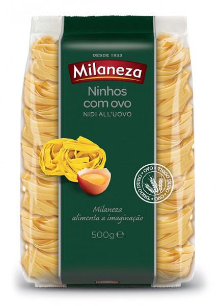 """Massa Ninho de Ovos """"Milaneza"""" - 500gr"""