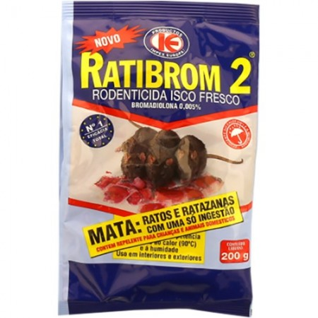 Imagens RATIBROM 2 - 200gr - free shipping