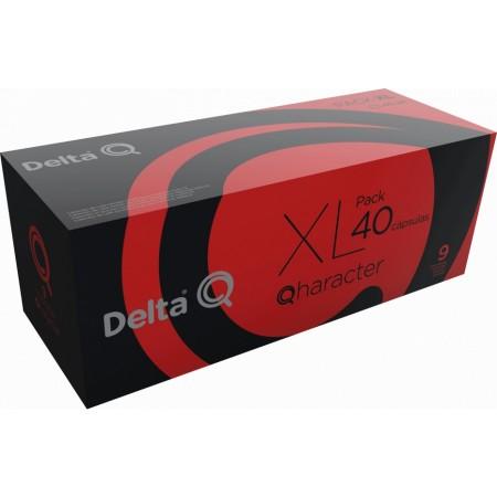 """Café """"DELTA Q"""" XL - QHARACTER x 40 caps"""