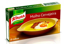 """Caldos de Molho de cerveja """"Knorr"""""""