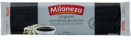 """Massa LINGUINE NERO """"Milaneza"""" - 0,5Kg"""