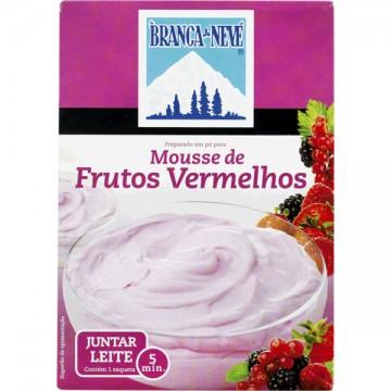 """Mousse de Frutos Vermelhos """"Branca de Neve"""""""