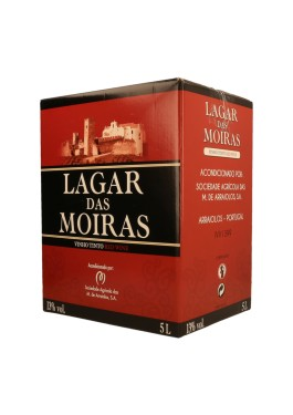 """Vinho Tinto """"Lagar das Moiras"""" BAG-IN-BOX - 5 Lt"""