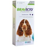 Bravecto Flea and Tick Protection Dog 10 - 20kg (22 - 44 lbs) 1 chew - free shipping